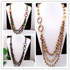 Assorted Handmade Coconut Shell Round Beads Wooden Beads Jewelry Necklace Option