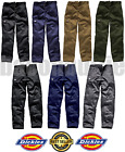 DICKIES MENS REDHAWK ACTION WORK WEAR CARGO COMBAT TROUSERS KNEE PADS POCKETS