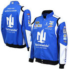 2015 Dale Earnhardt Jr Nationwide Mens Royal Twill Authentic Nascar Jacket-JH