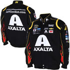 2015 Jeff Gordon Axalta Mens Black Twill Authentic Nascar Jacket-JH Design