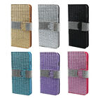 Bling Crystal Rhinestone Flip Case Cover For Apple iPhone 6 6G 4.7 Inch Tide