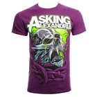 Official T Shirt ASKING ALEXANDRIA Purple MIDNIGHT SLIME Band Tee All Sizes