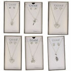 Ladies crystal  jewellery sets earring and necklace