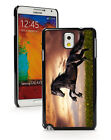 samsung note 2 3 - For Samsung Galaxy Note 2 3 4 5 Hard Case Cover 218 Black Galloping Horse