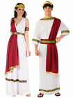 Mens Ladies Roman God Goddess Toga Caesar Venus Fancy Dress Costume Couples