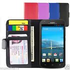 Huawei Ascend Y600 NEW Leather Wallet Case Cover