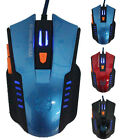 6D Gaming Mouse Optical Scroll Wired Mouse For Laptop Desktop PC New Tide