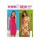 Kwik Sew 3985 Retro Vintage Style 60s Summer Shift Dress Sewing Pattern K3985