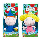 BEN & HOLLY'S LITTLE KINGDOM TALKING CUDDLY PLUSH TOYS WITH 4 FUN PHRASES / 18M+