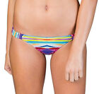 Billabong Women's Camellia Baja Bikini Bottoms-White/Multi