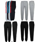 New Men's Ladies Plain Gym Sports Jogging Fleece Bottom
