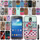 For Samsung Galaxy S4 Active I537 I9295 TPU SILICONE Rubber Case Cover + Pen