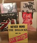 """5 Different  Album Covers Canvas Prints 15""""x15"""" On A Wooden Stretcher Frame"""
