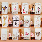 Luxury Crystal Rhinestone Diamond Wallet Leather Case Cover for Samsung Note 2 3