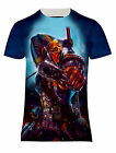 NEW DEATHSTROKE THE TERMINATOR COMICS SUPERVILLAIN PRINTED  T-SHIRT