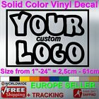 car business stickers - CUSTOM MADE VINYL STICKER DECAL FAMOUS BRAND BUSINESS LOGO WALL CAR WINDOW TEXT