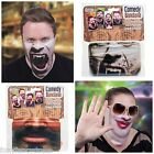 Comedy Novelty Face Head Wrap Bandana Mask Fancy Dress 4 Designs Teeth,Lips Etc