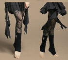 Women Belly Dancing Costume Dancewear Soft Lace Leggings Pants Trouser 5 Colors