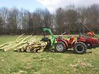 timber log grapple forestry skidder for compact tractor cat 1 or 2 includes vat