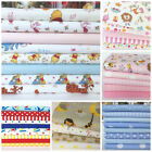 childrens/nursery fat quarter bundles  pink blue mint white 100 % cotton fabric