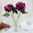 Artificial Hydrangea Bouquet Silk Flower Wedding Bridal Party Garden Decorations
