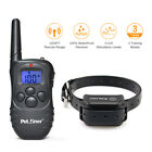 Petrainer Waterproof Rechargeable Dog Training Collar Shock Collar with Remote