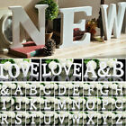 Wooden Freestanding 26 Letters Love Alphabet Wedding Party Home Shop Decoration