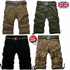 Mens Combat Summer Causal Military Style Cargo Six Pocket Cotton Army Shorts