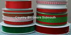 Christmas Ribbon Essentials ♥ Grosgrain , Organza , Satin , Velvet ♥