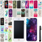 For Apple Iphone 6 Plus 5.5 inch Art Design TPU SILICONE Rubber Case Cover + Pen