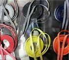 "Colors! 47"" 55"" Flat Cross Lines Leisure Shoe Laces Sneaker Walking Shoelaces"