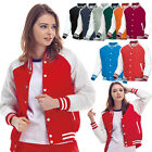 Men Women baseball varsity college Letterman quilting padded jacket Top Coat