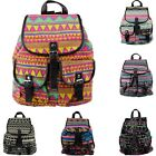 G Fashion Women Girls Vintage Floral Casual Canvas Sports School Bag Backpack