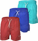 S44 Mens Swim Striped Elasticated Shorts Beach Summer Mesh Lined