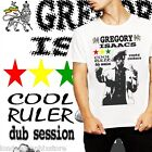 Reggae, T shirt, Gregory Isaacs, Dancehall, rasta, Yellowman, King Tubby, cotton