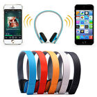 Wireless Bluetooth Stereo Headset Headphone Hands-Free for iPhone Samsung LG