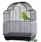 Внешний вид - Prevue SEED CATCHER Seed Guard Mesh Bird Cage Cover Skirt Traps Cage Debris