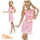 Baby Spice Girl Costume Pink Girl Power Ladies Fancy Dress Outfit New UK 8-18