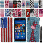 For Sony Xperia Z3 FULL DIAMOND BLING CRYSTAL HARD Case Phone Cover + Pen