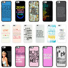Sayings Quotes Case Cover for Apple iPhone 4 4s 5 5s 6 6 Plus - 35