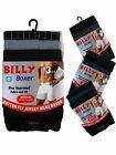 3 Mens Billy Boxer Shorts Jersey Cotton Button Fly Trunks Underwear / All Sizes
