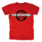 THE OFFSPRING - WHITE LOGO SKULL - OFFICIAL MENS T SHIRT