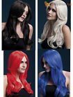Ladies Womens Fever Khloe Long Wave Professional Quality Wig Fancy Dress Costume