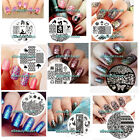 JQ 61-75 Designs Nail Art Image Stamp Stamping Plates Manicure Template #EB-061V