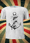 Sailor Anchor  Reckless And Brave T-shirt Vest Top Men Women Unisex 1997