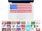 USA American Flag Silicone Keyboard Skin Cover Protector For Macbook Air 11.6