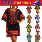 Jungo Shirt Dashiki Mexican African Tribal Beach Kaftan Free Size Women