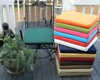 "20""X20""X2"" FOAM OUTDOOR UNIVERSAL BISTRO CHAIR PAD CUSHION-CHOOSE SOLID COLORS"