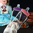 Cute 3D Cartoon Nipple Baby Milk Bottle Pacifier Case Cover for iPhone Model