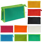 1PC Cosmetic Case Travel Bag Make Up Case Faux Leather Zipper Pouch 9 Colors